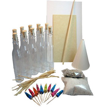 Do-It-Yourself Message In A Bottle Kit