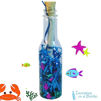Under The Sea Message In A Bottle